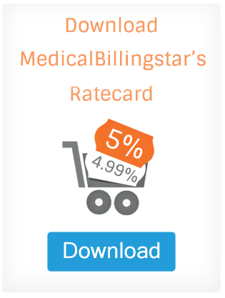 Medical Billing Rate card